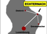 Location of Echternach